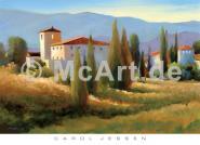 Blue Shadow in Tuscany I