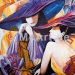 Donne con Cappello II