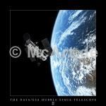 Hubble and Earth 250g/m²,Fotopapier-Satin, seidenmatt