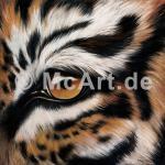 Tigerauge 250g/m²,Fotopapier-Satin, seidenmatt