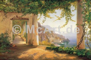 View to the Amalfi coast -