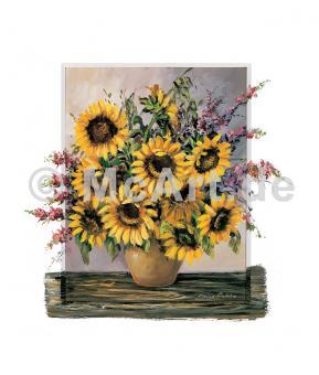 Sunny sunflowers -