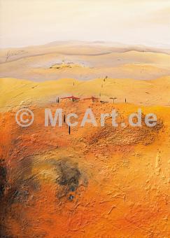 Mediterrane Landschaft 2 -