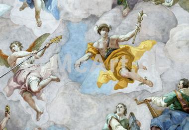 Der Götterbote Merkur -