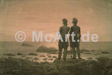 Zwei Männer am Strand -