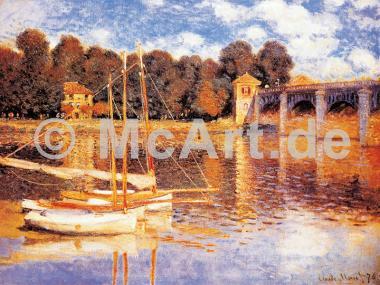 Die Brücke von Argenteuil -