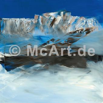 Eislandschaft I -