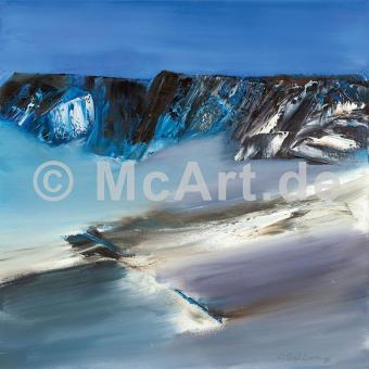 Eislandschaft III -