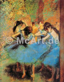 Die blauen Tänzerinnen -