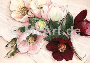 Elegant Anemones -
