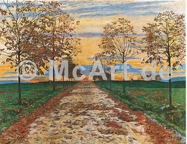 Herbstabend, 1892