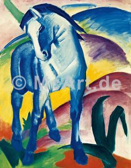 Blaues Pferd I -