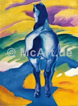 Blaues Pferd II -