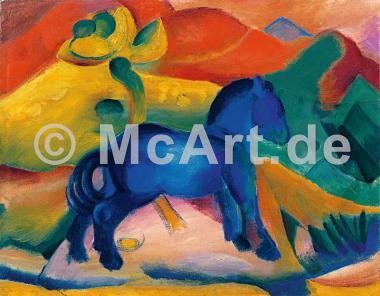Blaues Pferdchen -
