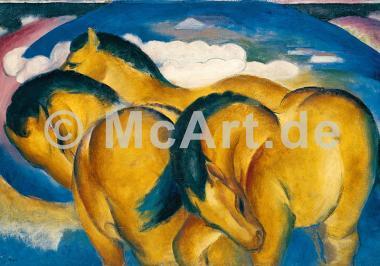 Die kleinen gelben Pferde