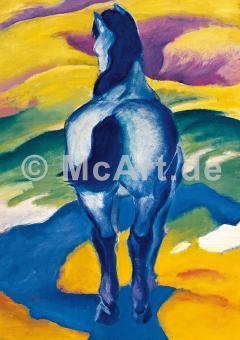 Blaues Pferd II