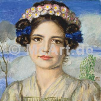 Bildnis der Tochter Mary -