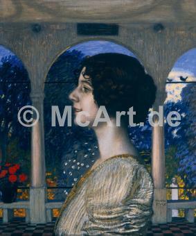 Weibliches Portrait -