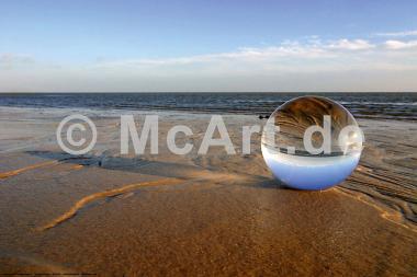 Am Strand von Sylt -