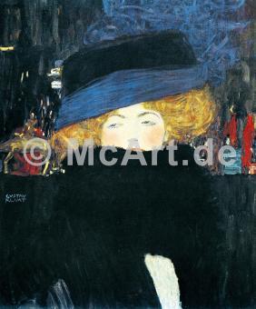 Bildnis einer Frau mit Hut und -