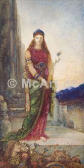 Helena vor den Mauern Trojas -