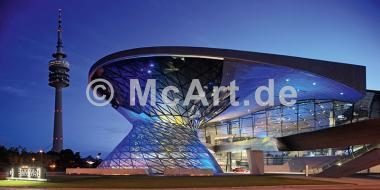 BMW Welt mit Olympiaturm -