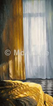 Interieur mit Sonne und Meer I -