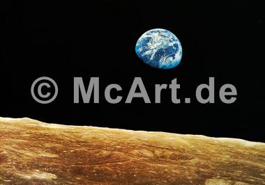 Apollo 8 Earth view -