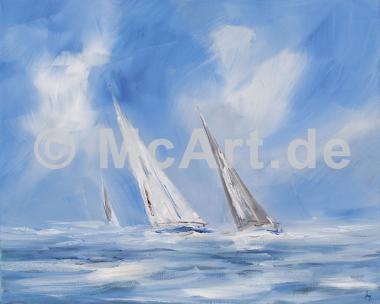 Auf dem Meer -