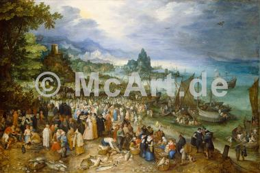 Seehafen mit Predigt Christi -