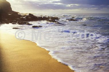 Morning waves -