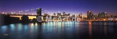 New York City by twilight -