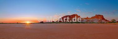 Rainbow Valley Sunrise -