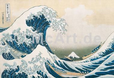Die grosse Welle von Kanagawa -