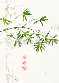 Bambuszweig