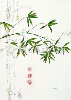 Bambuszweig -