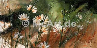 Blumen im Wind -