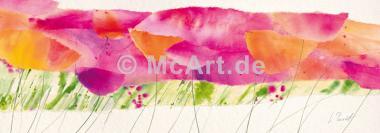 Poppy ribbon pink -