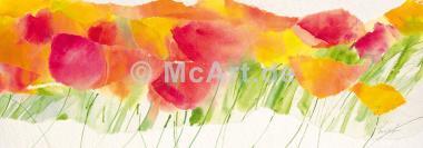Poppy ribbon yellow