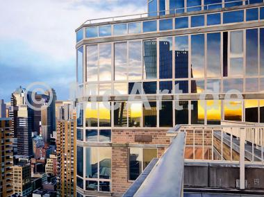 NYC Penthouse Reflections -