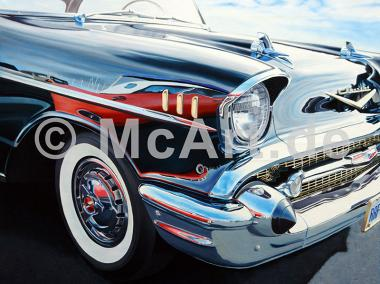 T-Bird on Chevy Reflections -