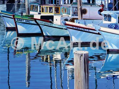 Fisherman`s Wharf Reflections -