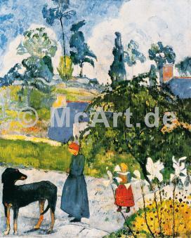Bretonische Landschaft -