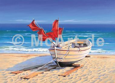 Small fishing boat -
